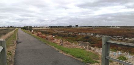 Site location Rail Trail Port Fairy