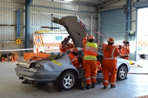 SES Road Rescue Demonstration